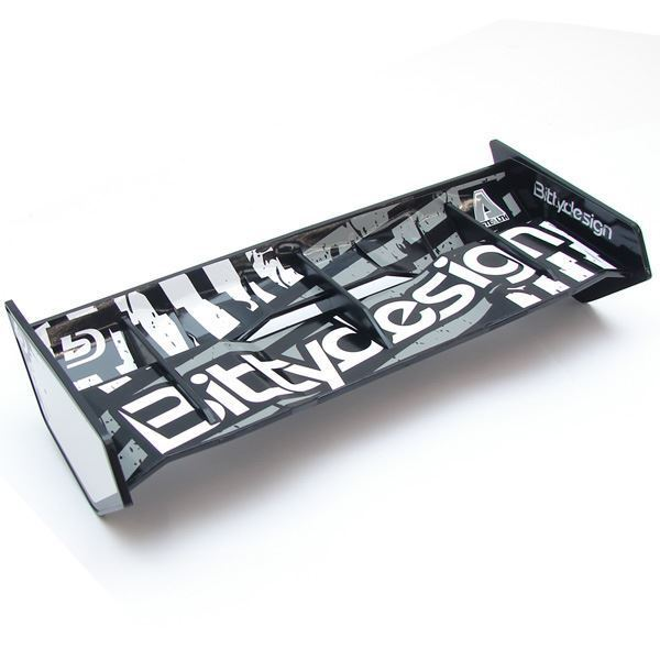 Picture of Stealth 1/8 Buggy & Truggy plastic wing set (Black)