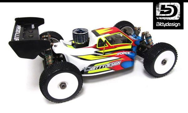 Picture of Force Clear body for Kyosho MP9 TKI 2-3