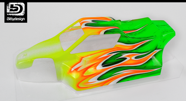 Picture of 'Flames' paintwork