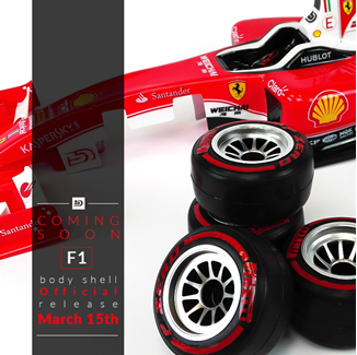 Picture of All new F1 body shell! March 15th Official Release