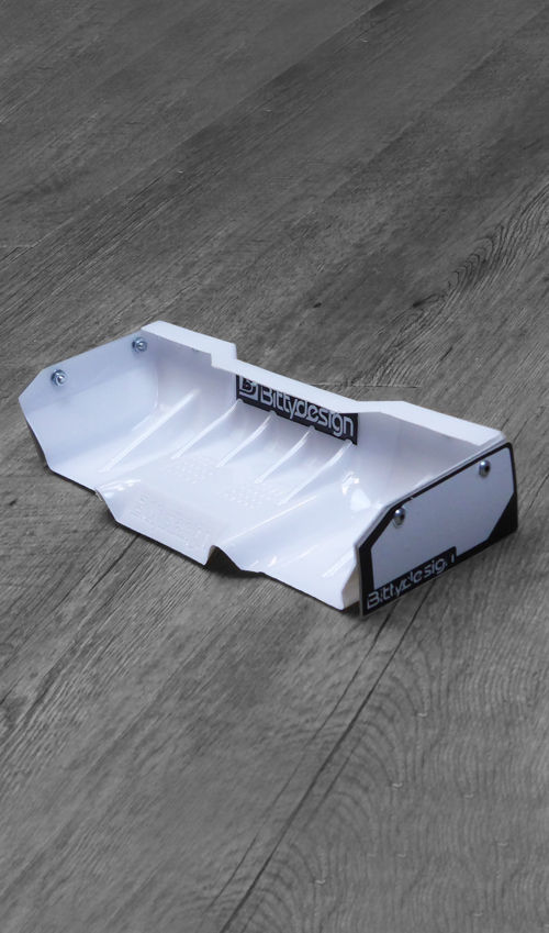 Picture of Zefirus 1/8 Buggy & Truggy lexan wing set (White)