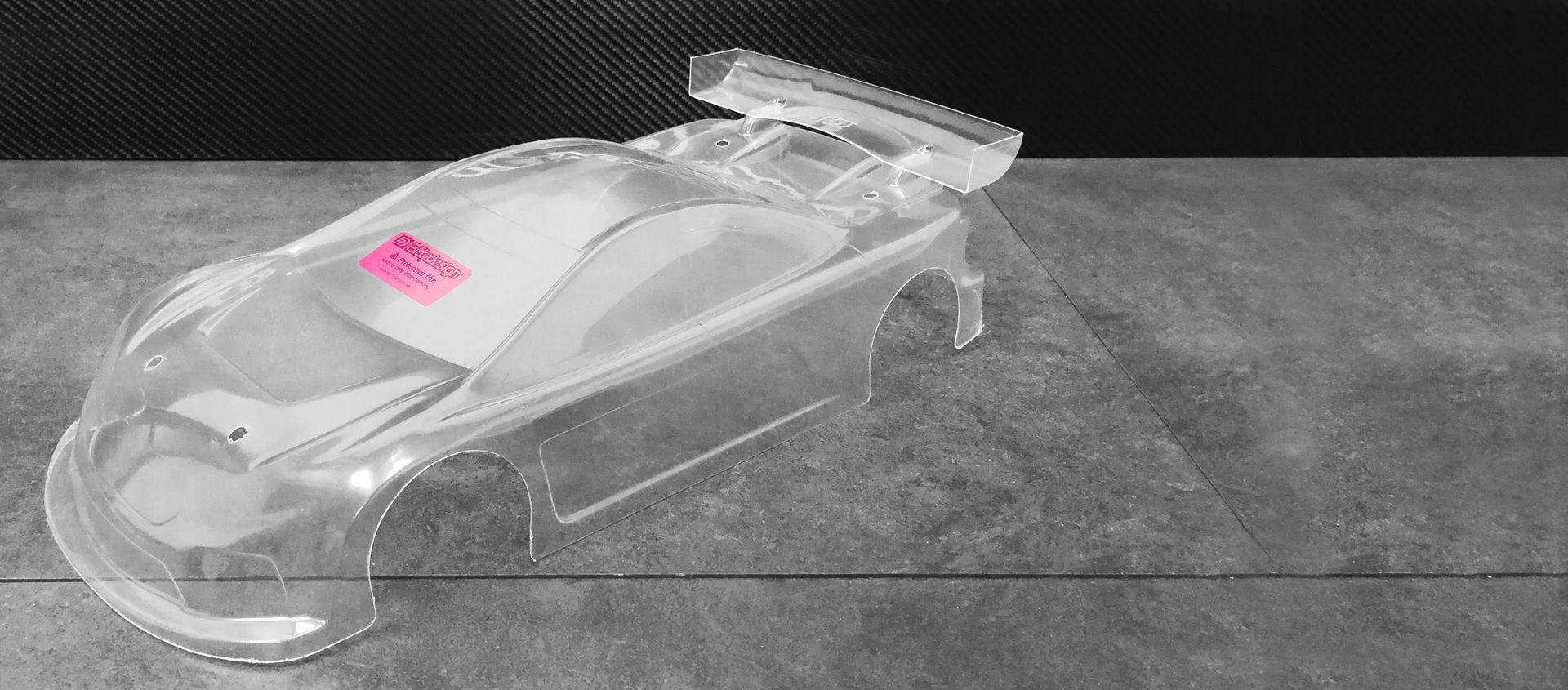 Picture of JP8 1/10 TC 190mm body (Light) Pre-Cut