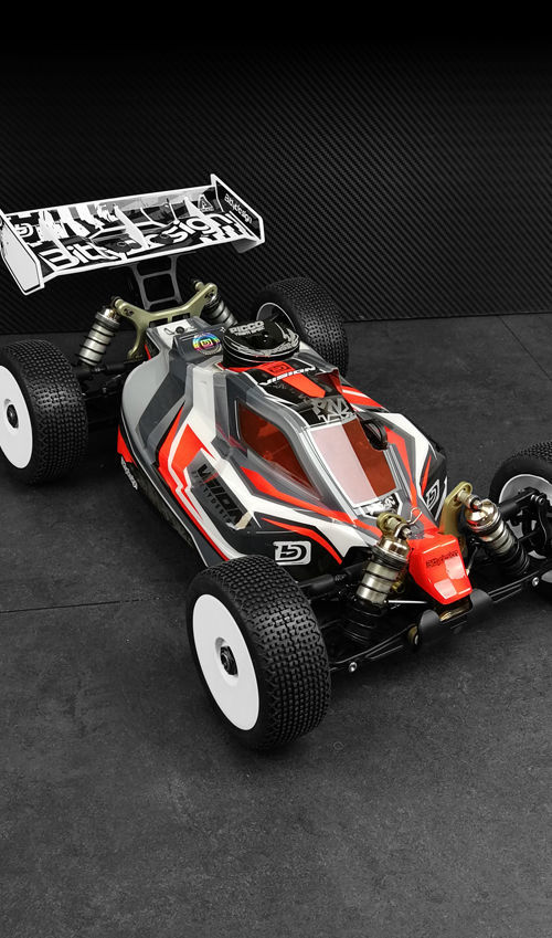Picture of VISION body for Kyosho MP10 Pre-cut