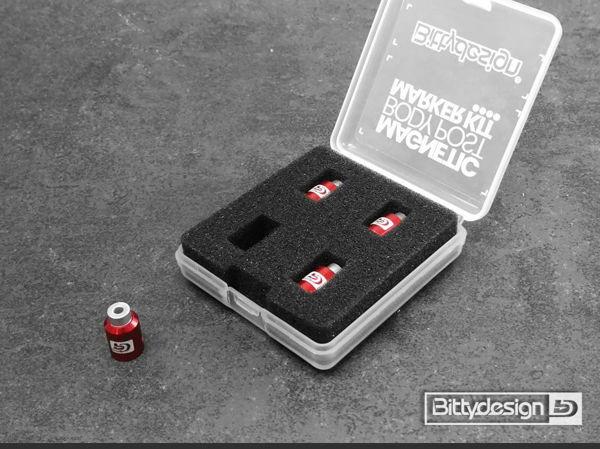 Immagine di Kit Magneti per fori clips carrozzeria - Big Scale