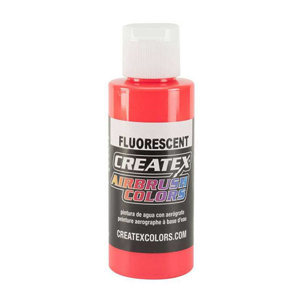 Picture of Createx Fluo Red #5408 (2oz)