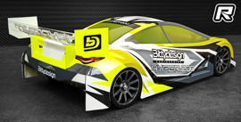 Bittydesign Hyper-200 touring car body
