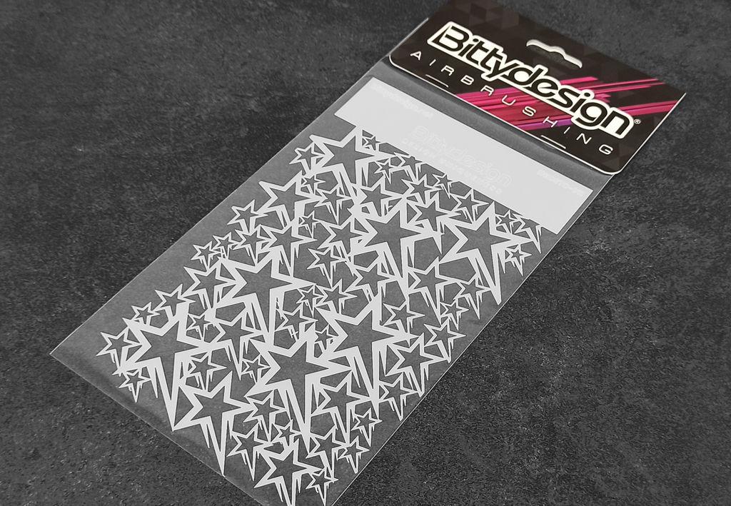 Immagine di Stencil vinile 'Stars V1'