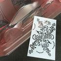 Immagine di Stencil vinile 'Floreal'