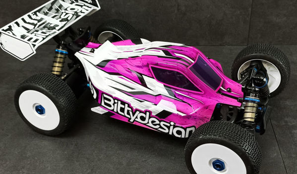 Picture of 'Bitty style' paintwork