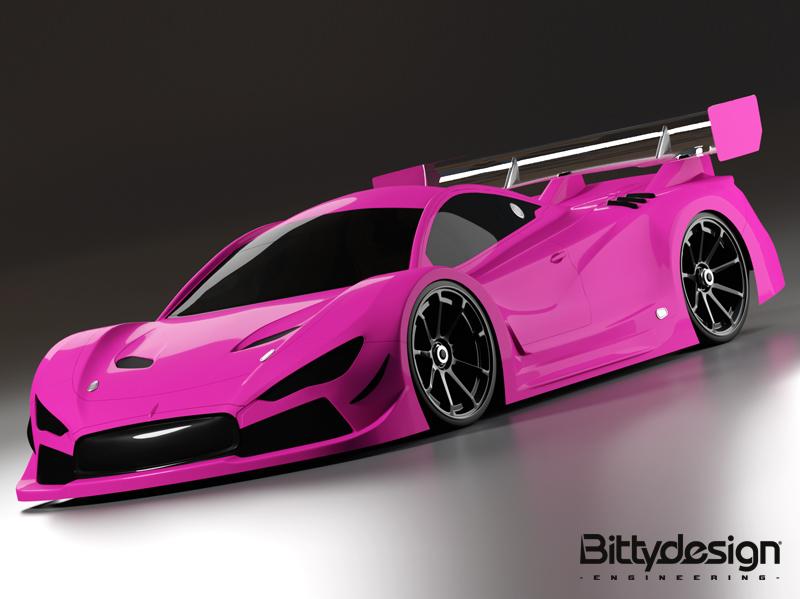 HYPER-GT8: diseño CAD 3D y renderizado profesional