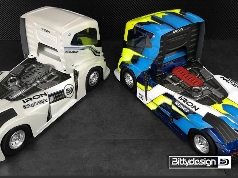 Bittydesign Iron 1 10 Truck 190mm Body